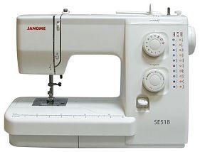 Швейная машина Janome SE518/521