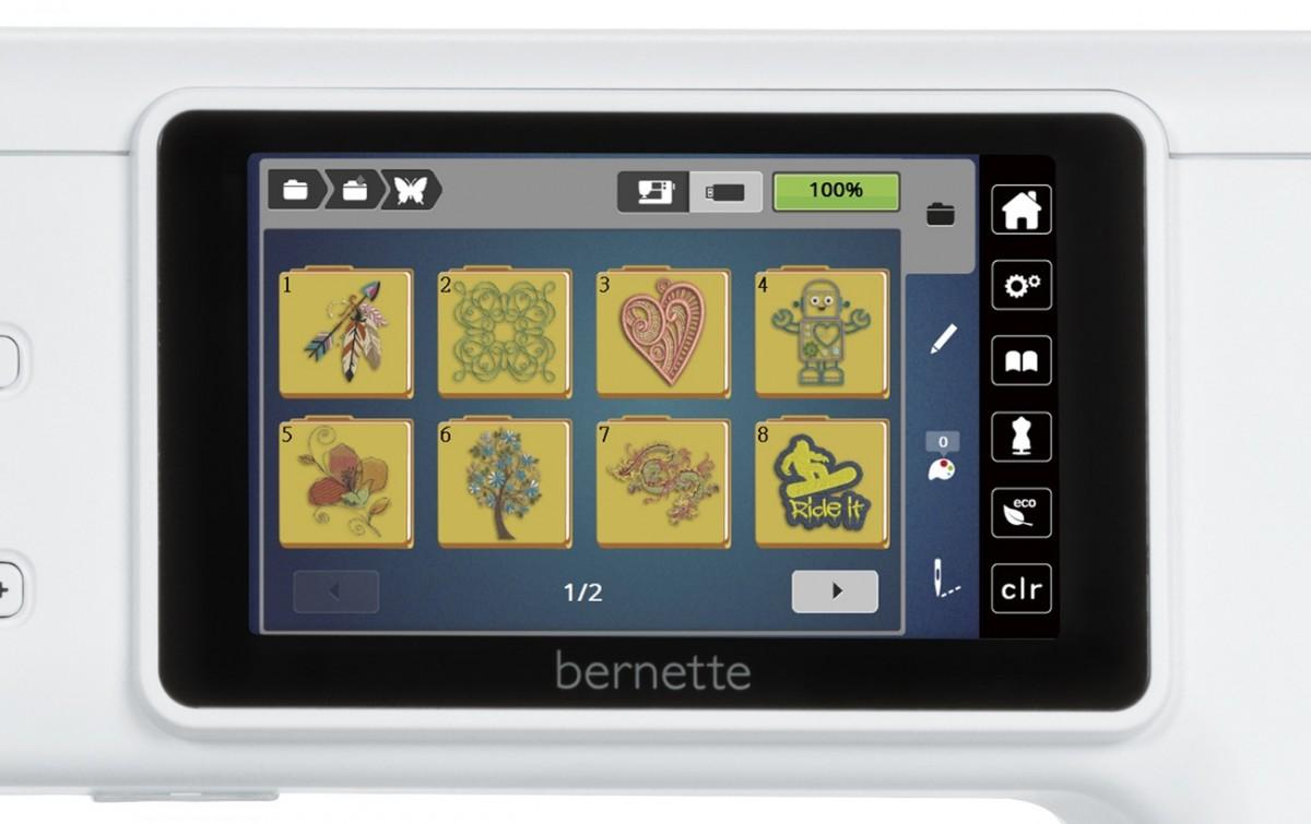 Вышивальная машина Bernette b 70 Deco